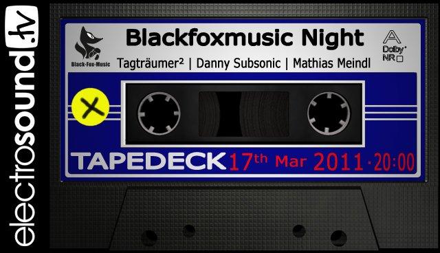 17.03.2011 Tapedeck