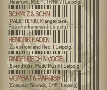 24.11.2012 Kopfknistern @ Alte Damenhandschuhfabrik - Leipzig - Germany